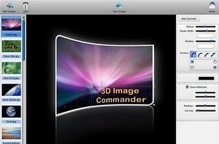 3D Image Commander 2.00 Full Version